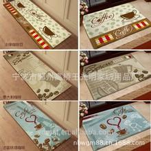 youdi 2015 new design zakka european heat printed coral fleece doormat floormat