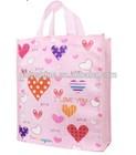 heart shape gift shopping bag