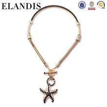 ELANDIS fashion handmade diamond accessory jewelry fashion star chain necklace