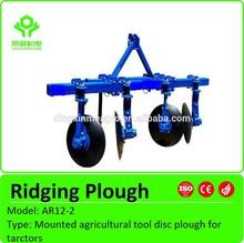 Alta calidad ridger / tractores ridger / jardín ridger