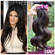 Full cuticle 7A malaysian hair body wave weaving human hair import