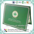 de alta calidad profesional de impresión de personalizados baratos diploma certificado