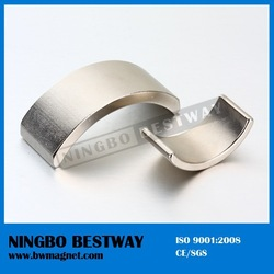 high quality magnet DC Permanent Neodymium arc magnet motor
