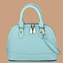 2015 hot selling high quality sheell shape tote handbags,women Pillow handbags