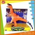 Algodão- enchimento de tiranossauro rex dinossauro de brinquedo com som