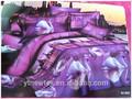 Impreso edredón de fotos 3d colchas/cubrecamas acolchada stock