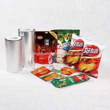 JC food vacuum packing material,snack vacum packaging film,eatables package