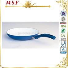 MSF ceramic cooking pan colorful aluminum frying pan with bakelite handle MSF-L6218