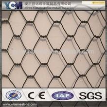 wholesaler hot sale pvc coated hexagonal gabion cage/wire mesh cage
