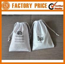 Cheap Mini Cotton Drawstring Bag