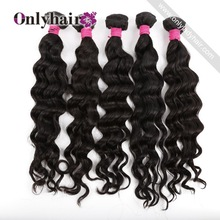 Cheap Virgin Filipino Harmony Hair Extensions Black Hair Product