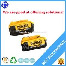 New arrival! China Dewalt power tools lithium Dewalt 20v battery