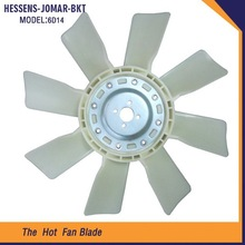 Low price plastic blade radiator fan 6D14