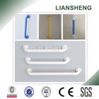 Non-barrier nylon bathroom safety grab bars system