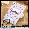 clear design leather printing OEM china supplier case cover for ipad mini