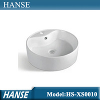 HS-XS0010 commercial hand wash basin/ wash basin counter designs/ small toilet basin