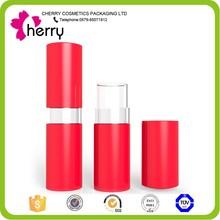 red flower lipstick case OEM lipstick tube cosmetics packaging empty hot love