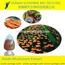 Regulating blood pressure herbal extract growing reishi mushrooms extract