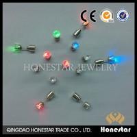 LED electronic flashing Multi-Color light up earrings