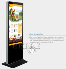 Refee 32/42/55/65 digital interactive video game kiosk advertising player top quality factory price best seller in 2015