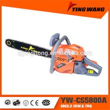Top quality 58cc garden machine YW-CS5800A