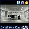 o estilo moderno de costume popular loja de sapatos de design de interiores