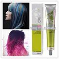 private label non stimolazione migliore capelli di seta naturale tabella di miscelazione del colore