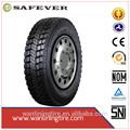Hecho en china un rendimiento perfecto todo nuevo steel10r 22.5 neumático radial para camiones
