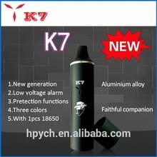 2015 HOT Selling dry herb vaporizer with Samsug battery smoke atomizer DRY& WAX vaporizer