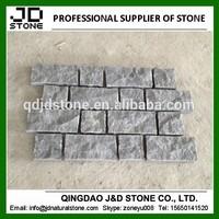 granite pavers for driveways/ g654 rectangle cobblestone paver mats