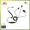 walkie talkie tubo acústico 3 de alambre kit de vigilancia mtp850 motorola