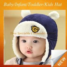 cute baby cap Kids hats Cotton Beanie Infant hat and cap CLBH-098