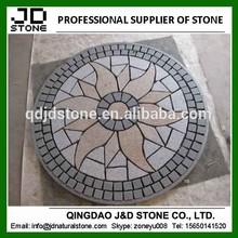 granite cobblestone paver mats/ garden paving stone