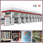 Computer Color Register 8 Color Rotogravure Printing Machine Price