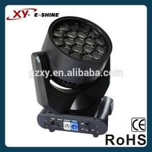 Professional lighting 19x15w led wash/ led bee eye moving head k10
