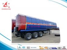Bitumen /pitch/asphalt/Oiled Tank Trailer Transportor with hot oil heating