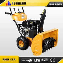 Road Sweeping Tool Snow Blade 13HP Handy Snow Cleaning Machine