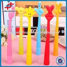 New design finger plastic fashion ball pen
