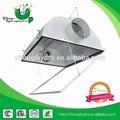 Alumínio hidropônico grow luz arrefecido a ar refletor/crescer luz arrefecido a ar refletor/jardim hidroponia lâmpada tampa de alumínio