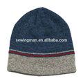 clásico melange hilados de acrílico para hacer punto plana beanie sombrero