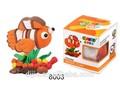 diy artesanato jogo mágico brinquedos de barro brinquedoseducativos peixe com folheto para crianças 8003