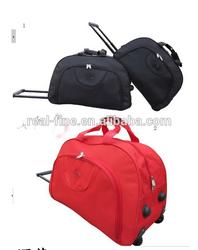 Free shipping Travel Duffle Metal trolley bag fashion travel luggage bag male Women travel bag