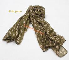 animal voile scarf Birds print scarf owl silk organza scarf bufunda stoles shawls