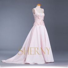 Sherny Bridals 2015 New Fashion Quality Famous Brand Modest Evening Dresses