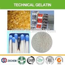Technical/industrial grade gelatin