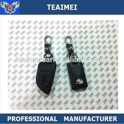 Real leather car key holder fashion key case