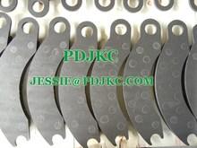 Brake pad for caterpillar 9C0566/9C0567