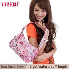 vivisecret china factory direct supply bright color portable nylon shoulder bag