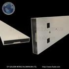 Furniture profiles Aluminum quadrangle cabinet frame