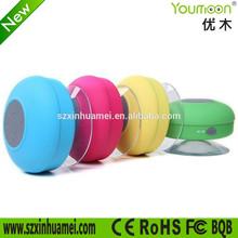 Low price waterproof bluetooth mini music speaker with hands-free, original design mini shower speaker 3w